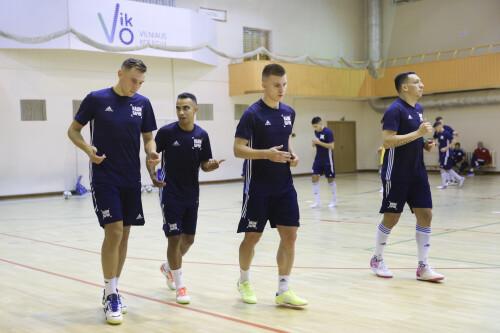 Тренировка сборной РФС по мини-футболу. FIFA Futsal World Cup Lithuania 2021. 9/9/2021, Radisson Hotel, Вильнюс, Литва. © Mikhail Shapaev, The Football Union of Russia
